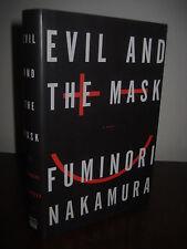1st/1st Printing EVIL AND THE MASK Fuminori Nakamura CRIME Mystery THRILLER