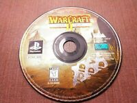 Sony PlayStation 1 PS1 PSOne Disc Only Tested Warcraft II The Dark Saga Ships Fa
