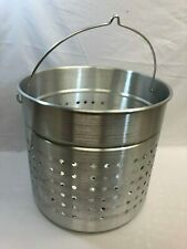 Large Steamer Basket Insert Perforated with Handle (New, Open Box, See Listing)