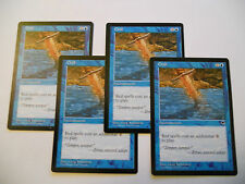 4x MTG Chill-Brivido Magic EDH TEM Tempest ING Inglese Legacy x4 Commander