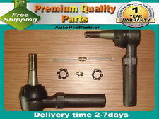 2 OUTER TIE ROD END SET FOR BUICK ALLURE 05-08 CENTURY 97-05 LACROSSE 05-09