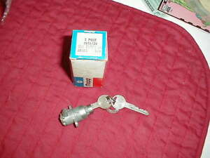 NOS MOPAR 1955 THRU 1969 GLOVE BOX LOCK MANY MODELS & BODY STYLES