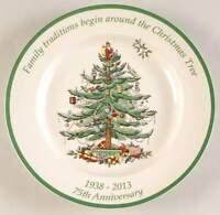 Spode CHRISTMAS TREE 75th Anniversary Dinner Plate 10102314