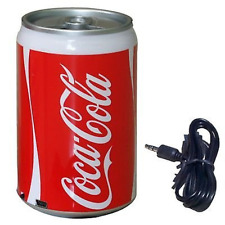 Coke Soda Can USB Portable Mini Speaker Radio Mp3 Player Phone Tablet Pc Laptop