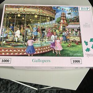 HOP 'Gallopers' - 1000 Piece Puzzle