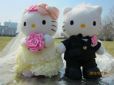 New wedding couple gifts HELLO KITTY plush Toys Gifts Kid stuffed doll birthday