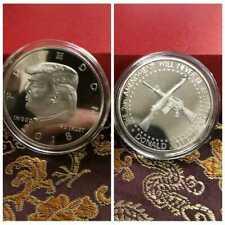 2018 President Donald Trump Inaugural Commemorative Coin Double Gun