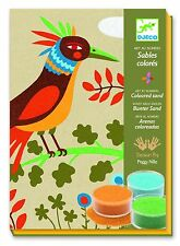Djeco Colored Sand Art Kit Birds of Paradise
