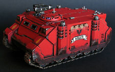 Pro painted Warhammer 40k Blood Angels Rhino miniature