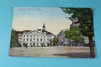 Bautzen , Theater am Platz - AK wohl 1920er/30er Jahre    /S95