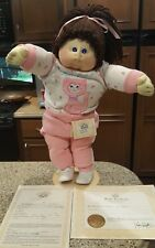 Cabbage patch kids 85 soft sculpture with open adoption papers