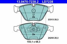 Bremsbelagsatz Scheibenbremse ATE Ceramic - ATE 13.0470-7238.2