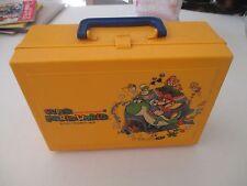 >> SUPER MARIO WORLD NINTENDO SUPER FAMICOM JAPAN IMPORT CARRYING CASE! <<