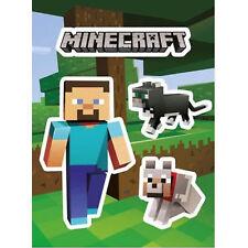 Minecraft ammiratori Nether Ufficiale Autoadesivo Set di 3 Adesivi