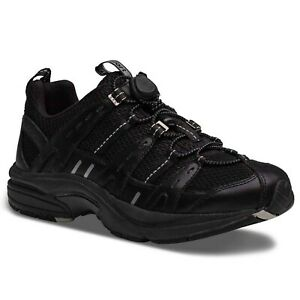 Dr. Comfort Refresh Women's Therapeutic Diabetic Extra Depth Shoe: Black/Blac...
