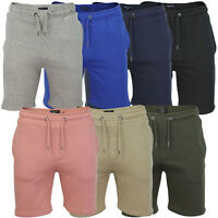MENS JOGGING SHORTS SWEAT BAGGY JOGGERS RUNNING JERSEY FLEECE BOTTOMS S-XL