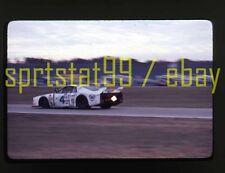 Facetti/Finotto #4 Lancia - 1980 Daytona 24 Hrs - Vintage 35mm Race Slide