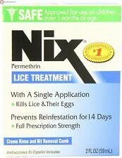 NIX Creme Rinse 1% 2Oz