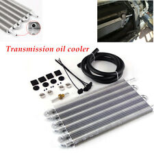 12''Radiator Remote Car Transmission Transfer Fuel Oil Cooler W/Cooling 6 Row