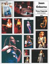 Joan Osborne Time Capsule Page by Tim Van Schmidt- Original photos plus