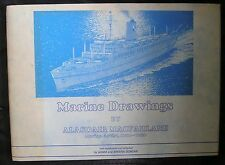 Marine Drawings by Alasdair Macfarlane (Hardback, 1986)