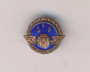 Old & scarce Swedish Football Federation Pin