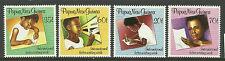 PAPUA NEW GUINEA 1989 INTERNATIONAL LETTER WRITING WEEK 4v MNH