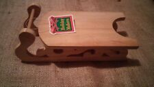 Wooden Sled  Sleigh Christmas Holiday for Craft  Decor  or Decoration