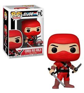 Funko POP! Retro Toys G.I. Joe Cobra Red Ninja #79 2021 Special Edt vinyl figure