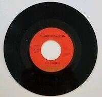 THE BEATLES YELLOW SUBMARINE/ELEANOR RIGBY - 45-MONO 70's Capitol ORANGE MINT!!