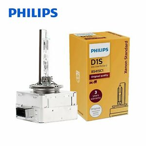 1x Genuine! PHILIPS D1S OEM 4300K HID Xenon Headlight Bulb 85415 35W Germany