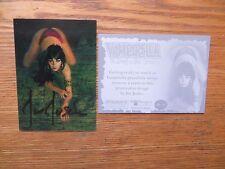 2011 BREYGENT VAMPIRELLA LENTICULAR 3-D CARD VL-13 SIGNED JOE JUSKO ART,WITH POA