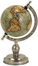 Imax Colombo Small Globe w/Nickel Finish Base 73026 World Globe New