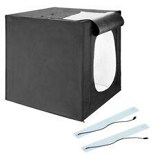 Square Perfect 28 Inch LED Photo Studio In A Box w/4 Color Backdrops Pro Quality