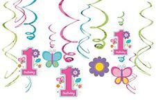 Amscan Sweet Birthday - Decorazioni a Stelle filanti da appendere al