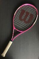 Wilson Triumph Women's Tennis Racket 4 1/4 - Pink - Good Condition!