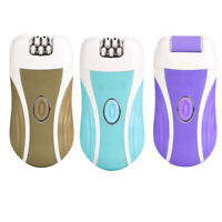 3 in 1 Rechargeable Lady Epilator Women Electric Trimmer Hair Removal U7B5