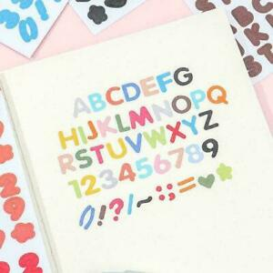 Alphabet Stickers Stickers Candy Color Alphabet/digital Hot Stickers 0 L1T4