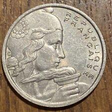 PIECE DE 100 FRANCS COCHET 1957 B (633) DIFFICILE À TROUVER !!