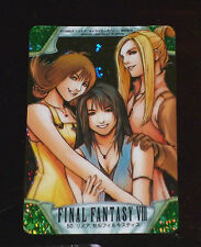 FINAL FANTASY VIII TRADING CARD PRISM HOLO CARD 50 BANDAI MADE IN JAPAN FF8 NM
