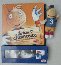 Jeu Le trio chanceux Petit mais astucieux ! Haba 2005 (Livre + Jeu + Personnage)