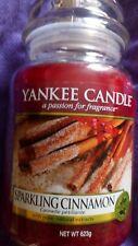 Yankee candle large jar SPARKLING CINNAMON