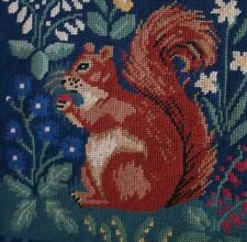 Squirrel Ehrman designer Candace Bahouth Tapestry Needlepoint Colour paper Chart