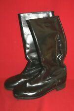 orig. DDR NVA Paar Stiefel Paradestiefel Chromleder Boots Gr. 42 DDR 28 Nr. 2