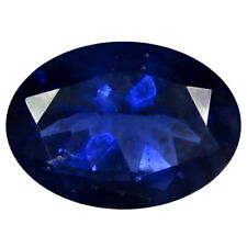 1.09 ct AAA Exquisite Oval Shape (8 x 6 mm) Blue Iolite Natural Loose Gemstone