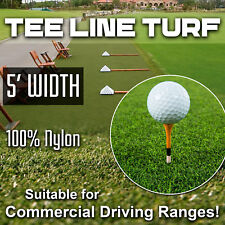 5' Wide Super Tee Line Turf, that holds a Tee, Driving Range Tee Turf