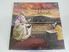 """SING PRAISES TO JEHOVAH R-9 SONGS 118-134 - LP 12"""" VINYL 1984 USA ED WATCH TOWER"""