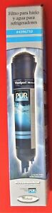 NIB PUR Refrigerator Ice & Water Replacement Filter - 4396710 for Whirlpool ...