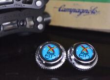 Eddy Merckx blue pedals dust caps fit campagnolo super record gipiemme nuovo new