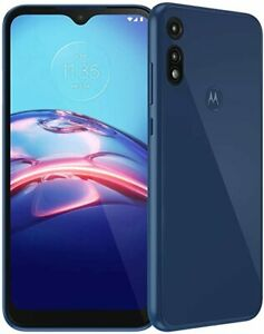 Motorola Moto E (2020) 32GB XT2052-6 Midnight Blue Locked for T-Mobile Open Box
